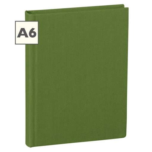 Notebook Classic (A6) book linen cover, 160 pages, plain, irish | 4250540923123 | 351204