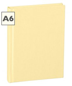 Notebook Classic (A6) book linen cover, 160 pages, ruled, chamois | 4250540910758 | 350901