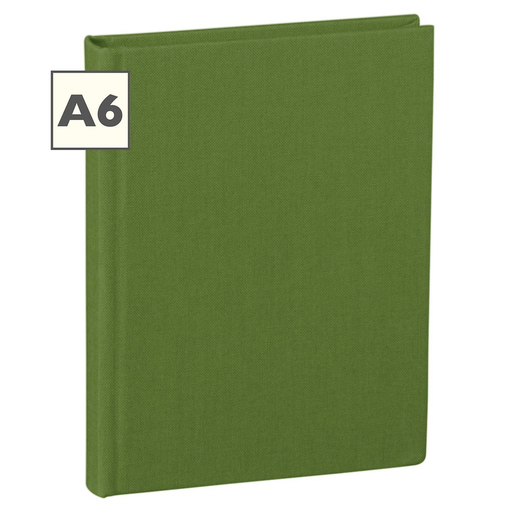 Notebook Classic A6 With Linen Binding, Ruled, Irish