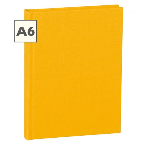Notebook Classic (A6) book linen cover, 160 pages, ruled, sun | 4250540910420 | 350888