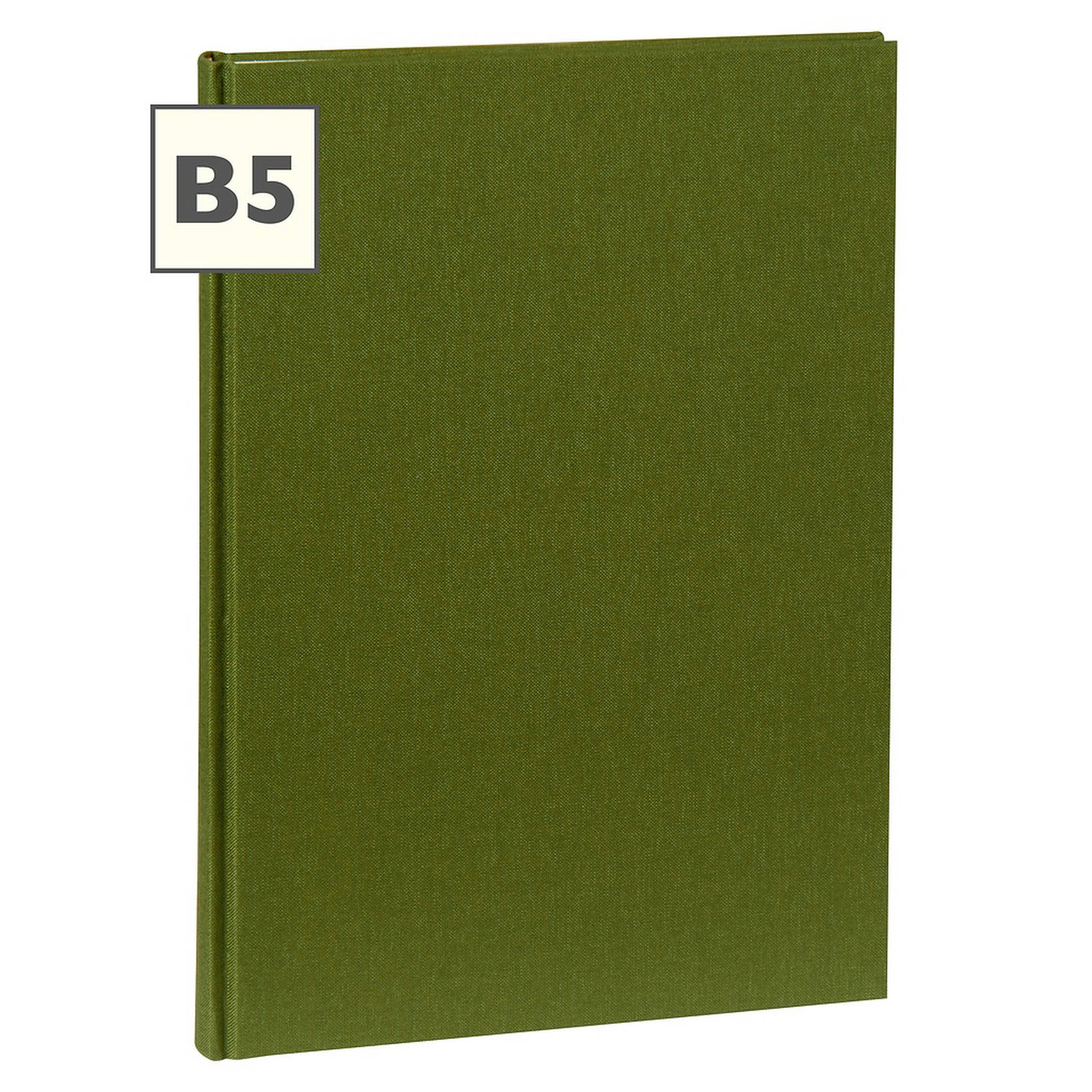 Notebook Classic B5 With Linen Binding, Plain, Irish