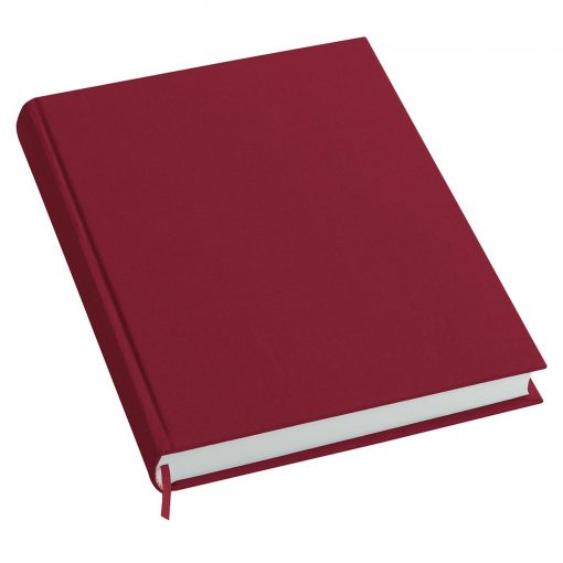 Notebook History Classic (A4) book linen cover, 160 pages, plain, burgundy | 4250053606254 | 351250