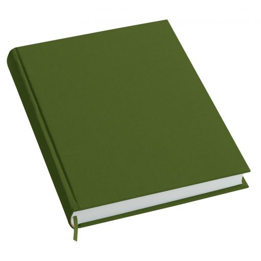 Notebook History Classic (A4) book linen cover, 160 pages, plain, irish | 4250540923314 | 351253