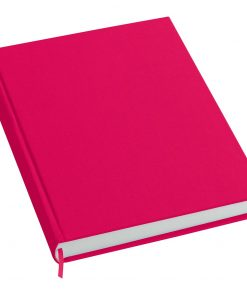 Notebook History Classic (A4) book linen cover, 160 pages, plain, pink | 4250053606261 | 351251