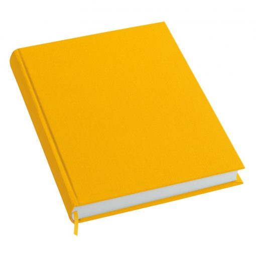 Notebook History Classic (A4) book linen cover, 160 pages, plain, sun | 4250053606216 | 351247