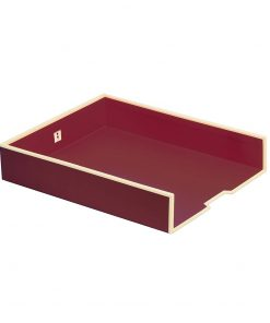Paper Tray (A4),  burgundy | 4250053618608 | 352708