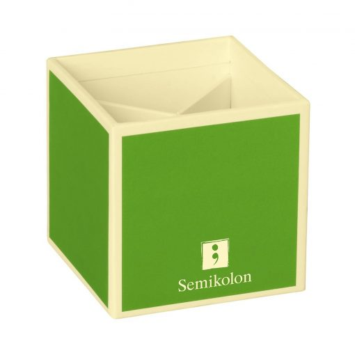 Pencil Cup with 4 separate compartments, lime | 4250540910857 | 352850