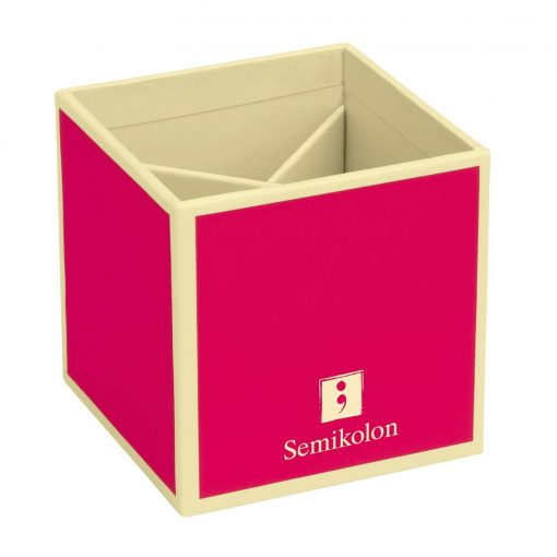 Pencil Cup with 4 separate compartments, pink   4250540910819   352845