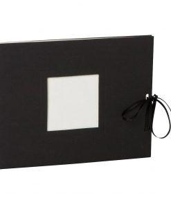 Photo booklet, landscape format, 10 sheets, 15 x 10cm, black | 4250540902388 | 351543