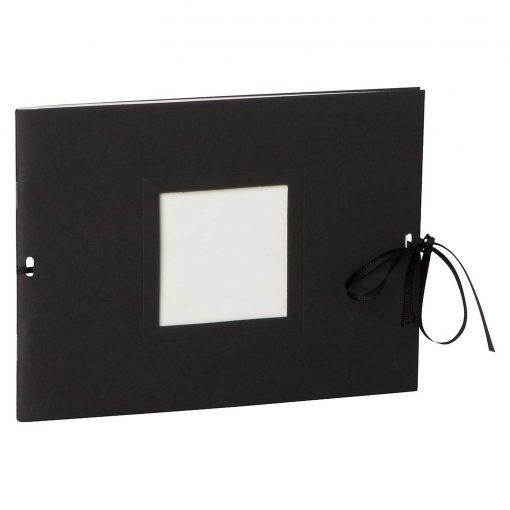 Photo booklet, landscape format, 10 sheets, 15 x 10cm, black   4250540902388   351543