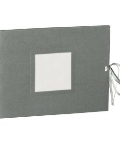 Photo booklet, landscape format, 10 sheets, 15 x 10cm, grey | 4250540902425 | 351547