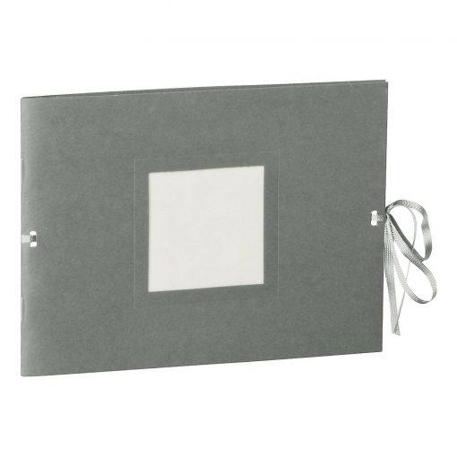 Photo booklet, landscape format, 10 sheets, 15 x 10cm, grey   4250540902425   351547