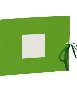 Photo booklet, landscape format, 10 sheets, 15 x 10cm, lime | 4250540902418 | 351545