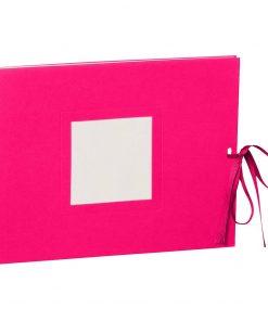 Photo booklet, landscape format, 10 sheets, 15 x 10cm, pink | 4250540902371 | 351542