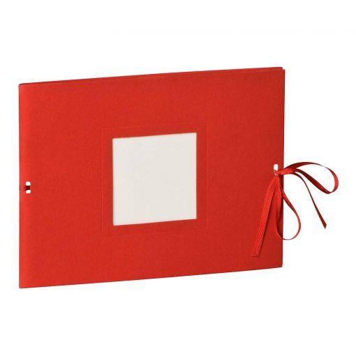 Photo booklet, landscape format, 10 sheets, 15 x 10cm, red | 4250540902357 | 351540