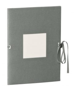 Photo booklet, portrait format, 10 sheets, 10 x 15cm, grey | 4250540902289 | 351534