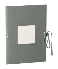 Photo booklet, portrait format, 10 sheets, 10 x 15cm, grey   4250540902289   351534