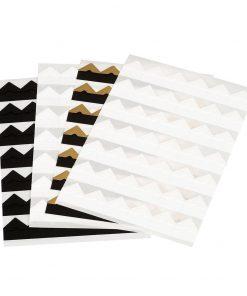 Photo Corners, 252 pieces, black | 4250053619704 | 353596