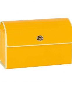 Small Accordion File, 12 expanding pockets, metal turn-lock closure, tab labels, sun | 4250053618707 | 351962