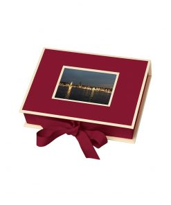 Small Photobox with cut out window, burgundy | 4250053644591 | 352512