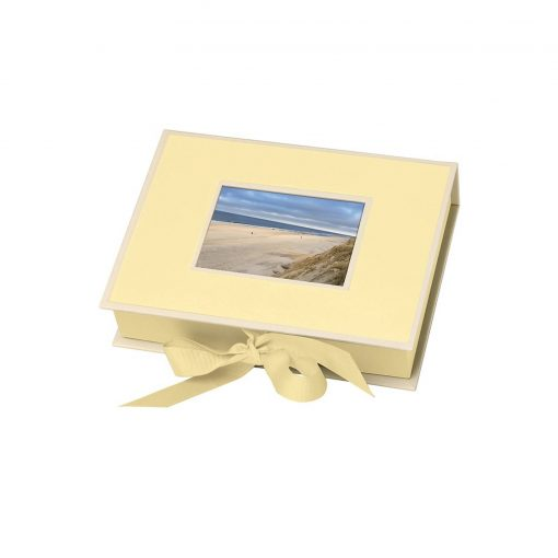 Small Photobox with cut out window, chamois | 4250053640142 | 352521