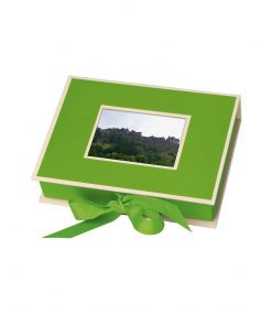 Small Photobox with cut out window, lime | 4250053644645 | 352518