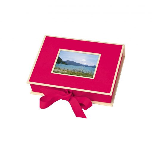 Small Photobox with cut out window, pink | 4250053662748 | 352513