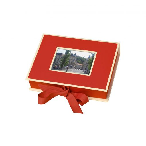 Small Photobox with cut out window, red | 4250053644584 | 352511