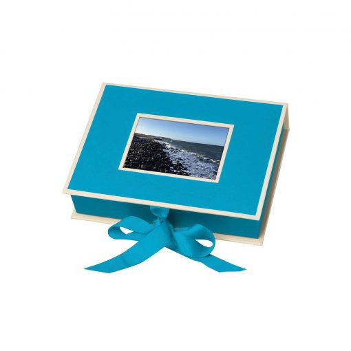 Small Photobox with cut out window, turquoise | 4250053696910 | 352523
