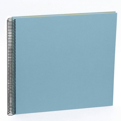 Spiral Album Economy Large,50 cream white pages,photo mounting board, efalin cover, ciel | 4250540901046 | 352935