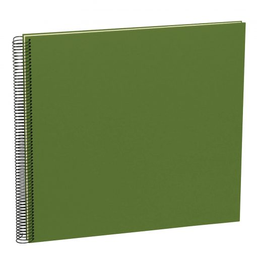 Spiral Album Economy Large,50 cream white pages,photo mounting board, efalin cover, irish | 4250540923260 | 352934