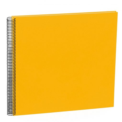 Spiral Album Economy Large,50 cream white pages,photo mounting board, efalin cover, sun | 4250540900988 | 352928