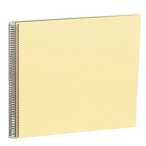 Spiral Album Economy Large Black, 50black pages,photo mounting board, efalin cover,chamois | 4250053645970 | 352910
