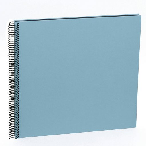 Spiral Album Economy Large Black, 50black pages,photo mounting board, efalin cover, ciel | 4250053663042 | 352905
