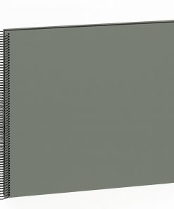 Spiral Album Economy Large Black, 50black pages,photo mounting board, efalin cover, grey | 4250053625279 | 352908
