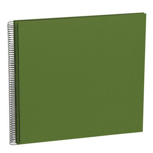 Spiral Album Economy Large Black, 50black pages,photo mounting board, efalin cover, irish | 4250540923352 | 352904
