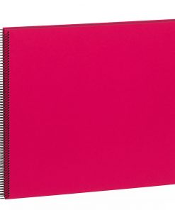 Spiral Album Economy Large Black, 50black pages,photo mounting board, efalin cover, pink | 4250053663028 | 352902