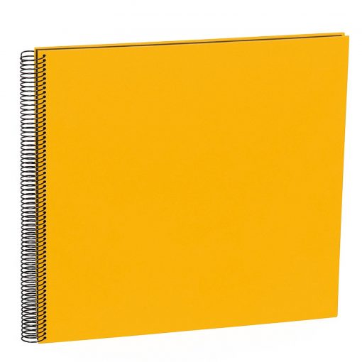 Spiral Album Economy Large Black, 50black pages,photo mounting board, efalin cover, sun | 4250053626894 | 352898
