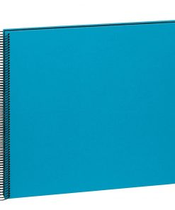 Spiral Album Economy Large Black,50black pages,photo mounting board,efalin cover,turquoise | 4250053696996 | 352912