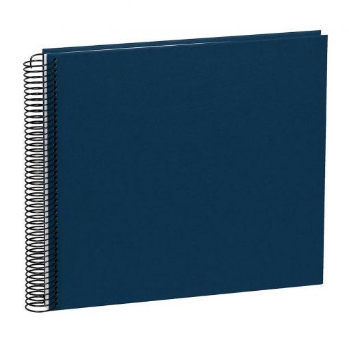Spiral Album Economy Medium, 40 cream white p., photo mounting board, efalin cover, marine | 4250540901138 | 352945