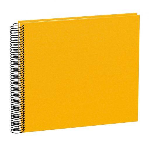 Spiral Album Economy Medium, 40 cream white p., photo mounting board, efalin cover, sun | 4250540901121 | 352944