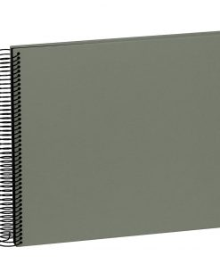 Spiral Album Economy Medium Black, 40 black p., photo mounting board, efalin cover, grey | 4250053625385 | 352923
