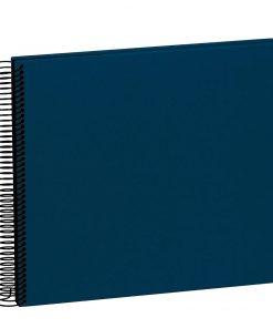 Spiral Album Economy Medium Black, 40 black p., photo mounting board, efalin cover, marine | 4250053663097 | 352914