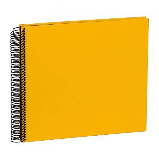 Spiral Album Economy Medium Black, 40 black p., photo mounting board, efalin cover, sun | 4250053626955 | 352913