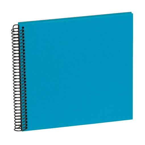 Spiral Piccolino, 20 black pages, efalin cover, turquoise | 4250540928234 | 354881