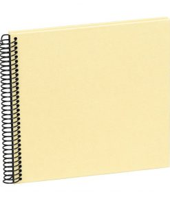 Sprial Piccolino, 20 black pages, efalin cover, chamois | 4250540928210 | 354879