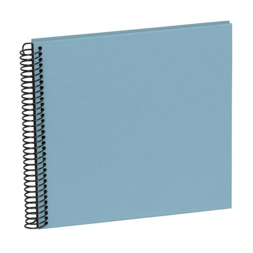 Sprial Piccolino, 20 black pages, efalin cover, ciel | 4250540928166 | 354874