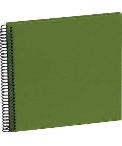 Sprial Piccolino, 20 black pages, efalin cover, irish | 4250540928159 | 354873