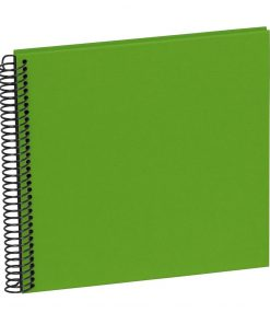 Sprial Piccolino, 20 black pages, efalin cover, lime | 4250540928180 | 354876