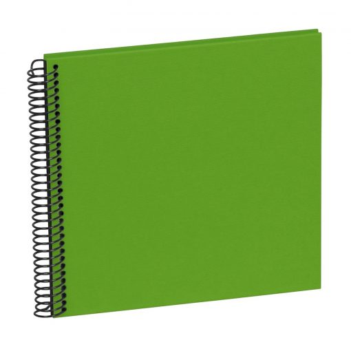 Sprial Piccolino, 20 black pages, efalin cover, lime   4250540928180   354876